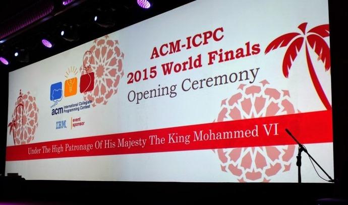 ACM-ICPC2015世界总决赛最终排行榜