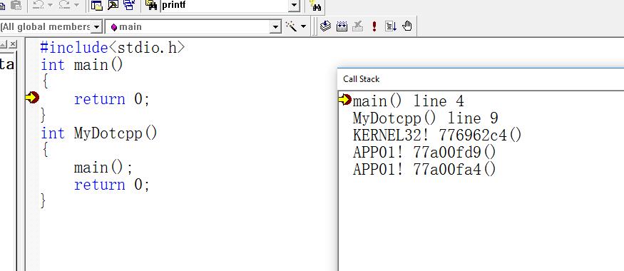 C语言程序真正的启动函数