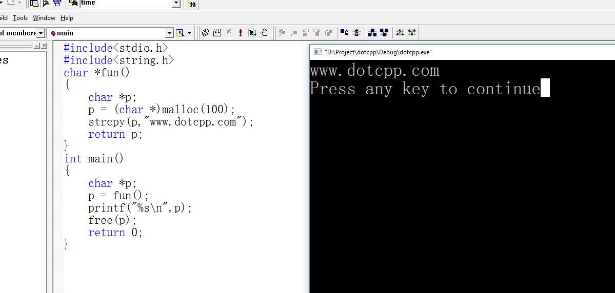 C语言自定义函数如何返回数组(下)?
